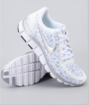 These cheetah print Nike shoes