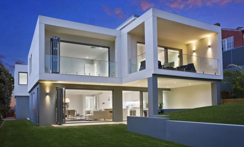 cube house seaforth completed new home designed by all australian architecture - New Design Homes
