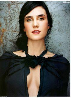 Black Hair Green Eyes Google Search Jennifer Connelly Jennifer Connoly Celebrities