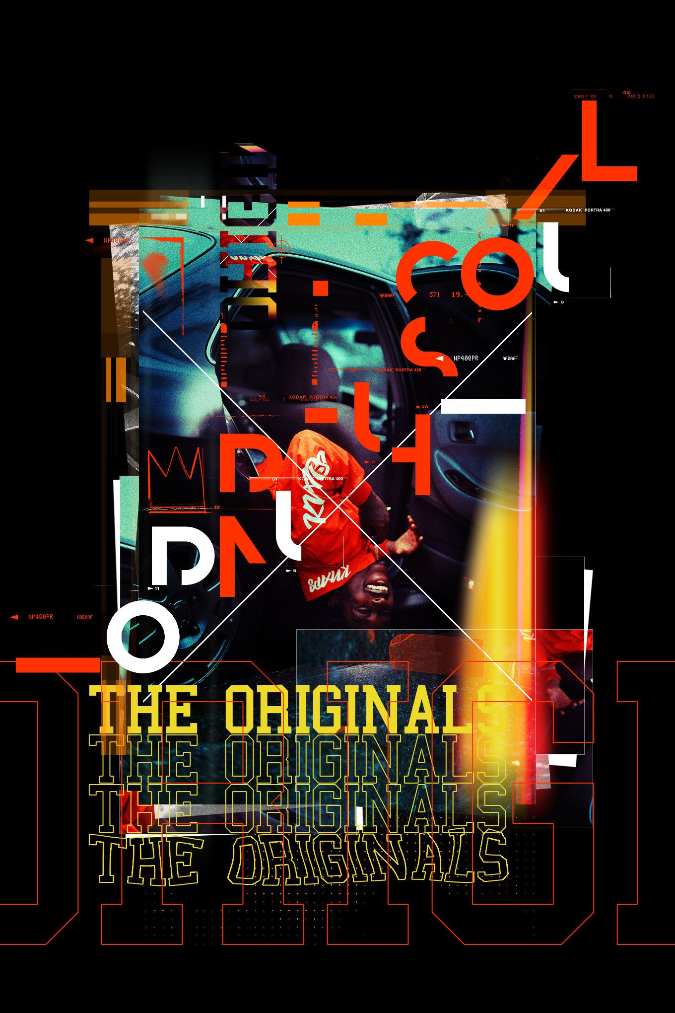 Lomography Typography Poster Action (с