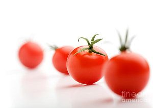 Tomato Photograph - Cherry Tomatoes by Kati Molin