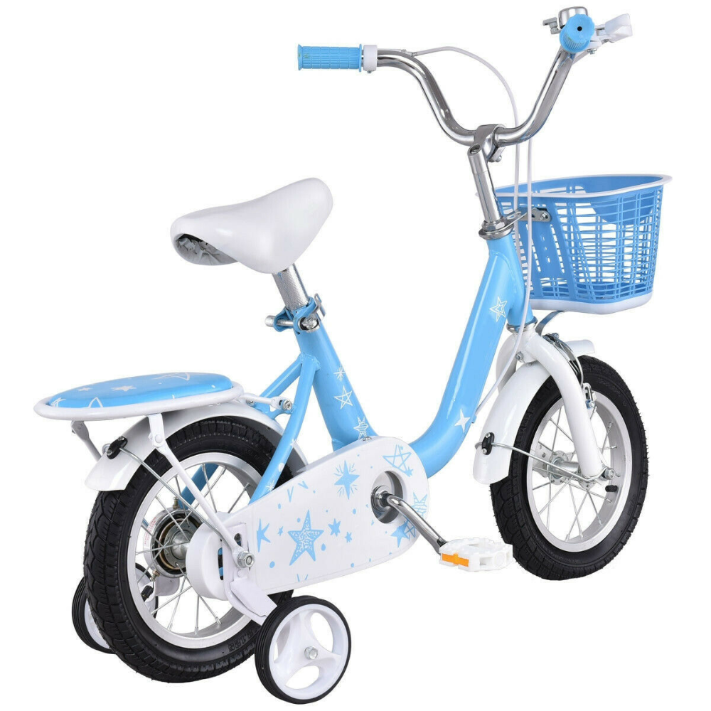 16 Kids Bike Bicycle With Training Wheels And Basket Pink Or Blue Ebay Kids Bike Bicycle Bike Bike With Training Wheels