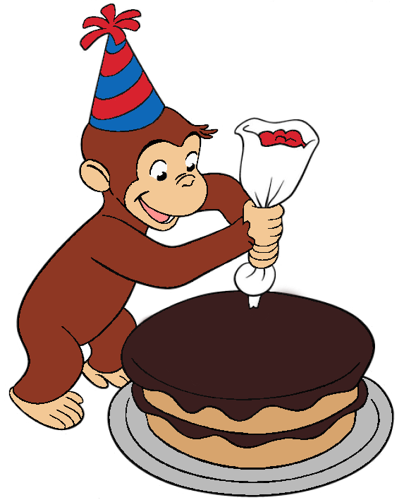 17 Best images about Party Theme monkeys – Curious George Birthday Cards