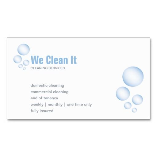 Cleaning Service Business Card Zazzle Com Carpet