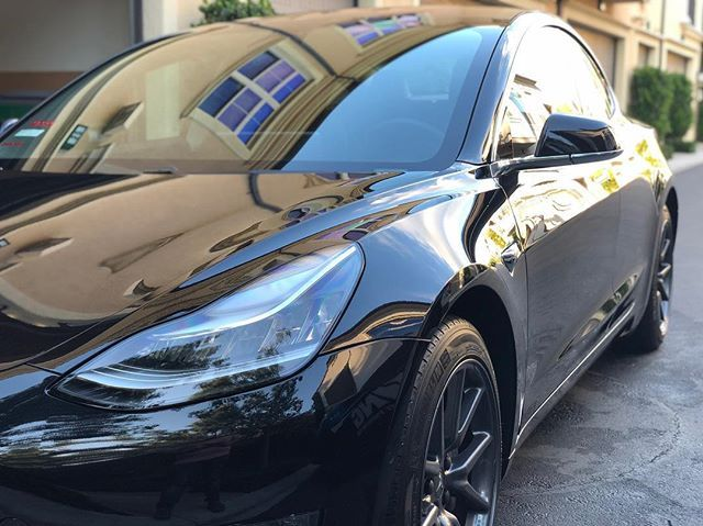 Best Part Of Detailing A Tesla No Plastic Trim To