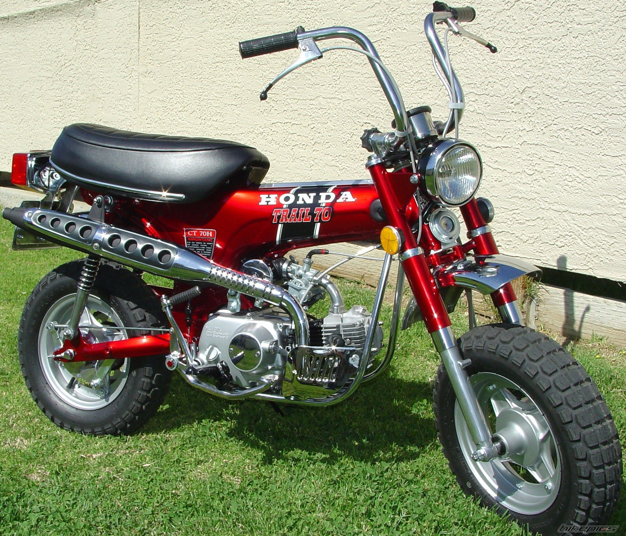 sold my mini bike and bought this honda trail 70 fun. Black Bedroom Furniture Sets. Home Design Ideas