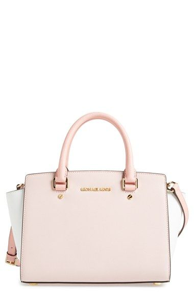 e38d0a5c2b0e MICHAEL Michael Kors  Medium Selma  Tricolor Leather Satchel available at   Nordstrom