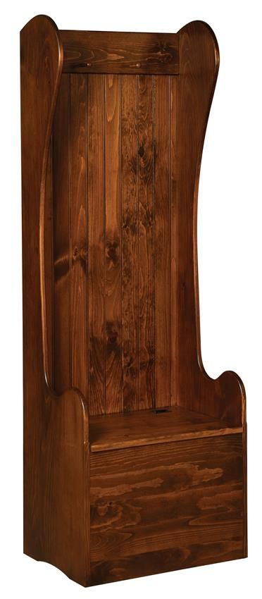 2 Settle Amish Pine Entryway Storage Bench Hang Coats And Backpacks In This Lovely Solid Wood