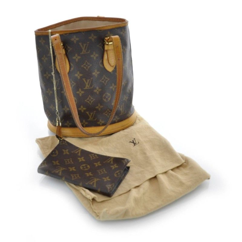 so want this | louis vuitton monogram petit bucket with ...