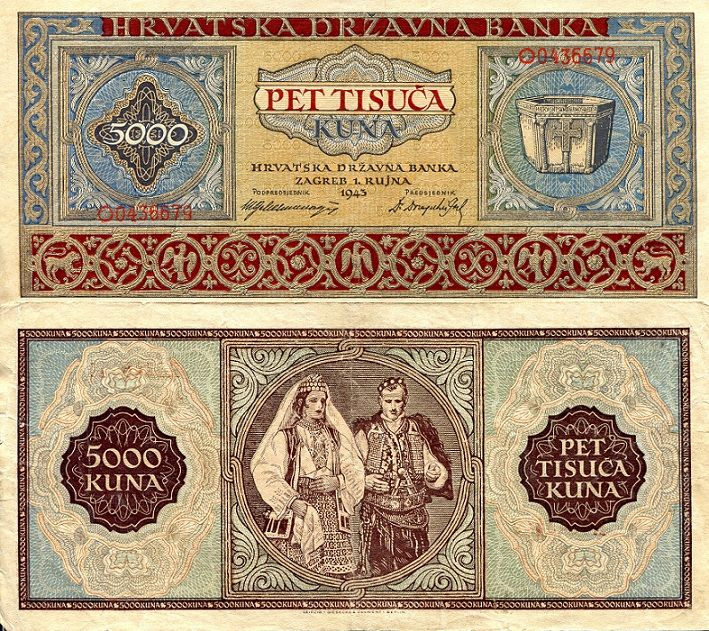 Pin By Sasa Manic On Banknote Money Bank Notes Vintage World Maps Croatia