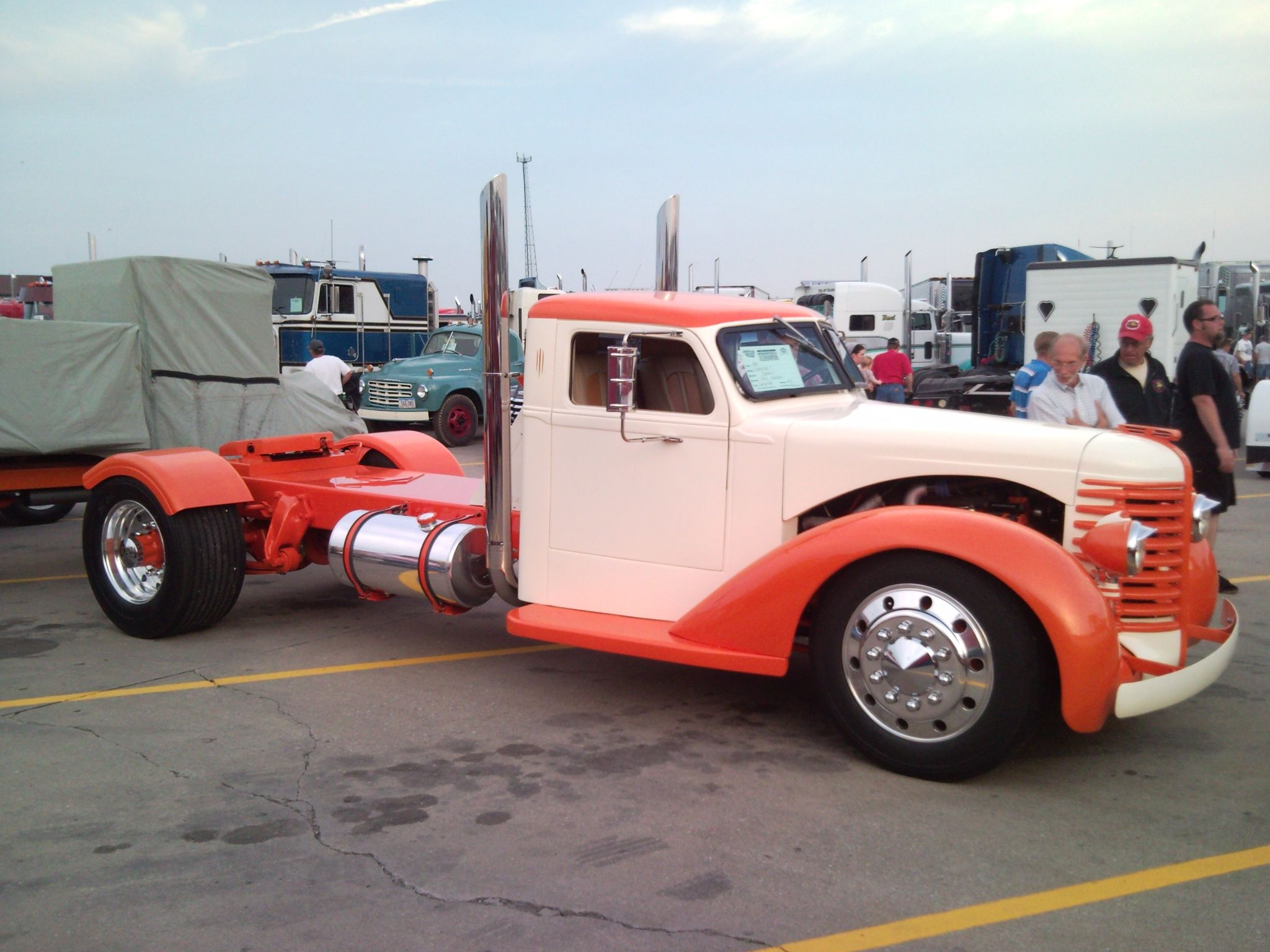 International hotrod with a cummins customs muscle cars rat rods hot rods drag - Moissonneuse cars ...
