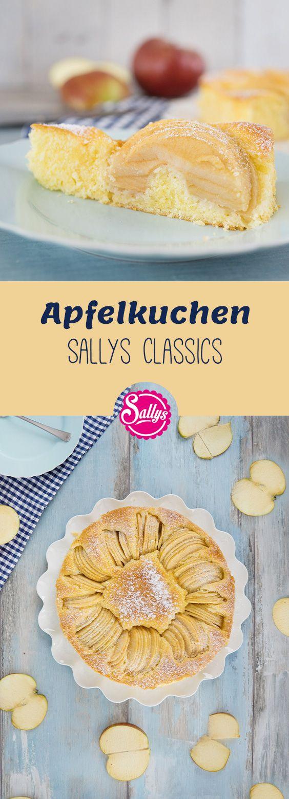 versunkener apfelkuchen sallys classics 1 yummy pinterest kuchen apfelkuchen und. Black Bedroom Furniture Sets. Home Design Ideas