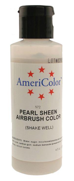 Pearl Sheen Americolor® AmeriMist™ Air Brush Food Color ...