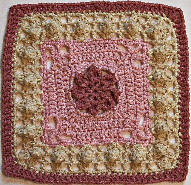"Ravelry: Princess - 12"" Square pattern by Melinda Miller"