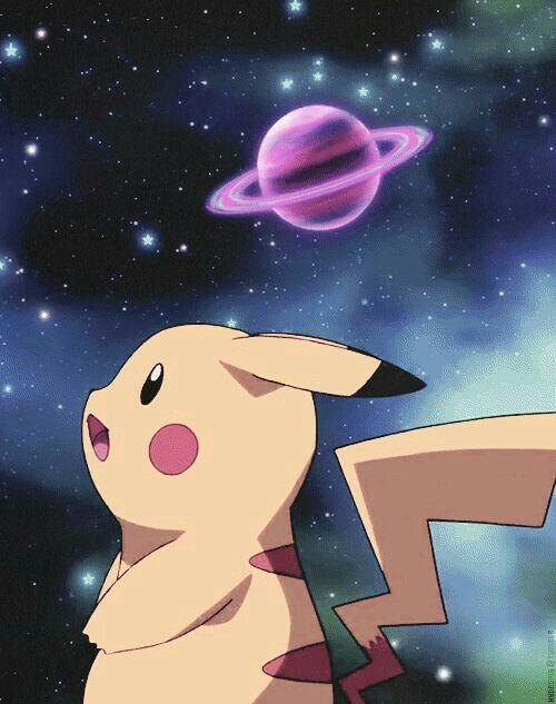Pikachu in Galaxy 🌌
