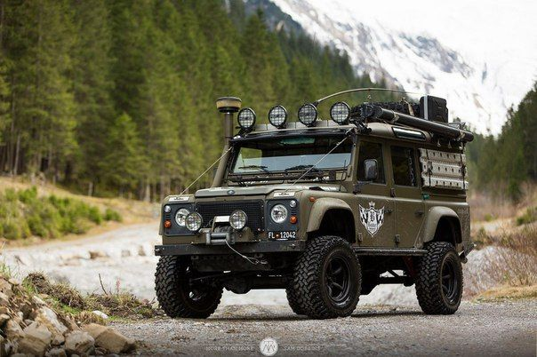 Land Rover Defender 110 Extreme Experience Superb Land Rover