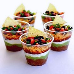 15 Party Finger Foods Teen Party Event Food Seven Layer Dip
