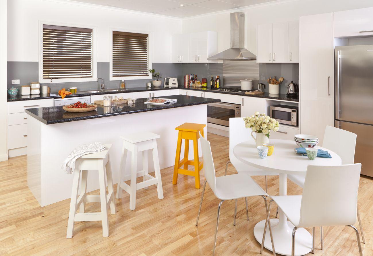 neutral trend Kitchen design, Kaboodle kitchen bunnings