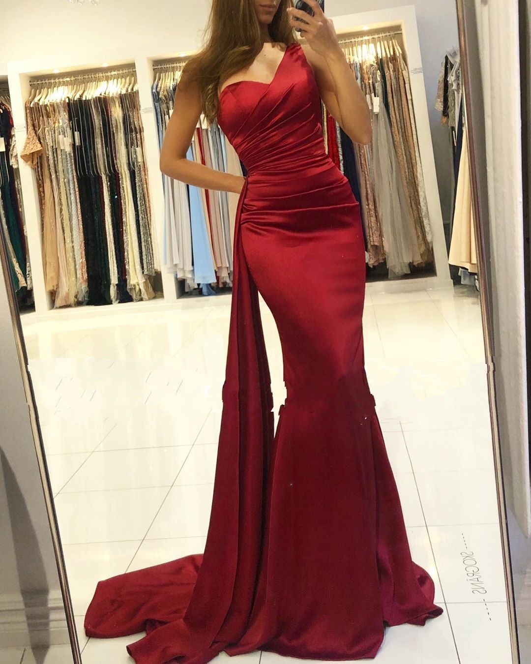 Designer Abendkleider lang Rot  Abendmoden Abiballkleider Online