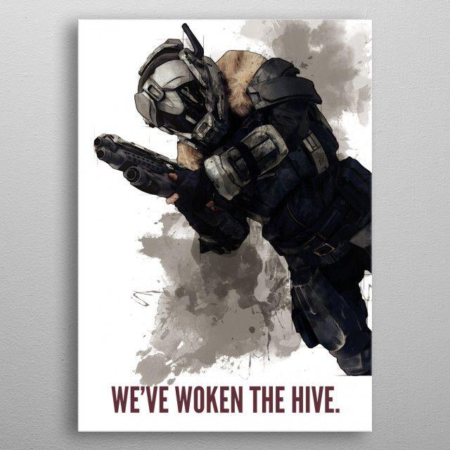 We've woken the by Rykker o7 | metal posters - Displate | Displate thumbnail