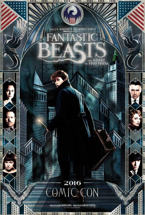 MOV383 Posters USA Fantastic Beasts Where To Find Them Movie Poster Glossy