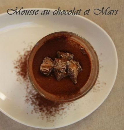 Mousse al cioccolato e Mars®