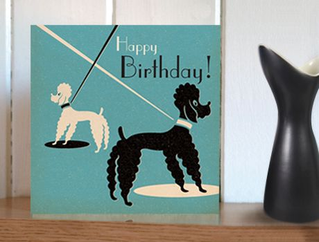 Mutts about town poodle birthday card by pennychoo greeting mutts about town poodle birthday card by pennychoo bookmarktalkfo Gallery
