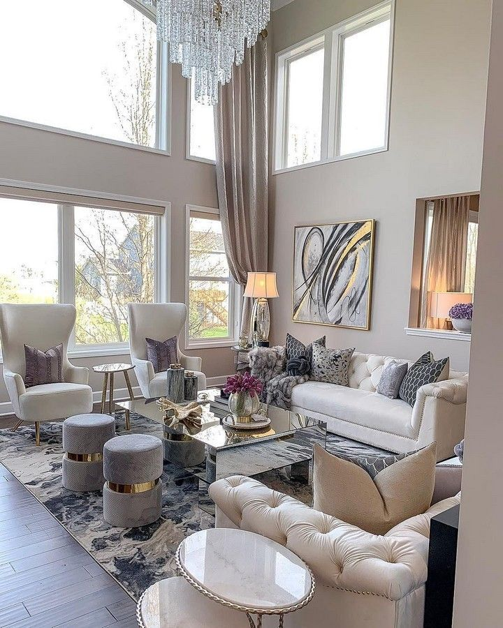 Photo of Modern Chic Living Room Design To Give A Charming Look – HomyBuzz