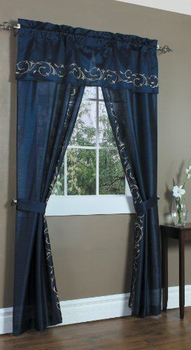 Royalton 5 Piece Curtain Set 16 99 Kitchen Window Treatments