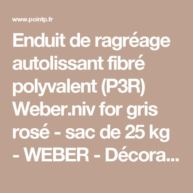 enduit de ragr age autolissant fibr polyvalent p3r. Black Bedroom Furniture Sets. Home Design Ideas