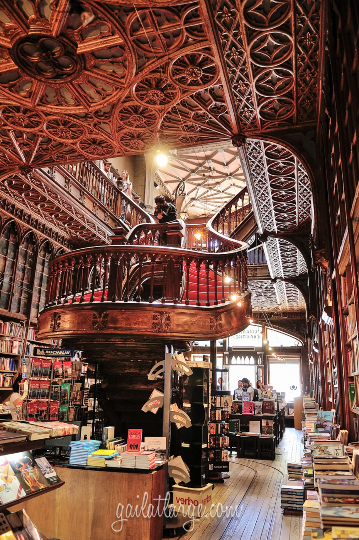 Livraria Lello Irmao Porto Portugal May 22 2015this Is The First Time I Ve Ever Been Able To Photograph The Interior Of Porto Portugal Beautiful Library