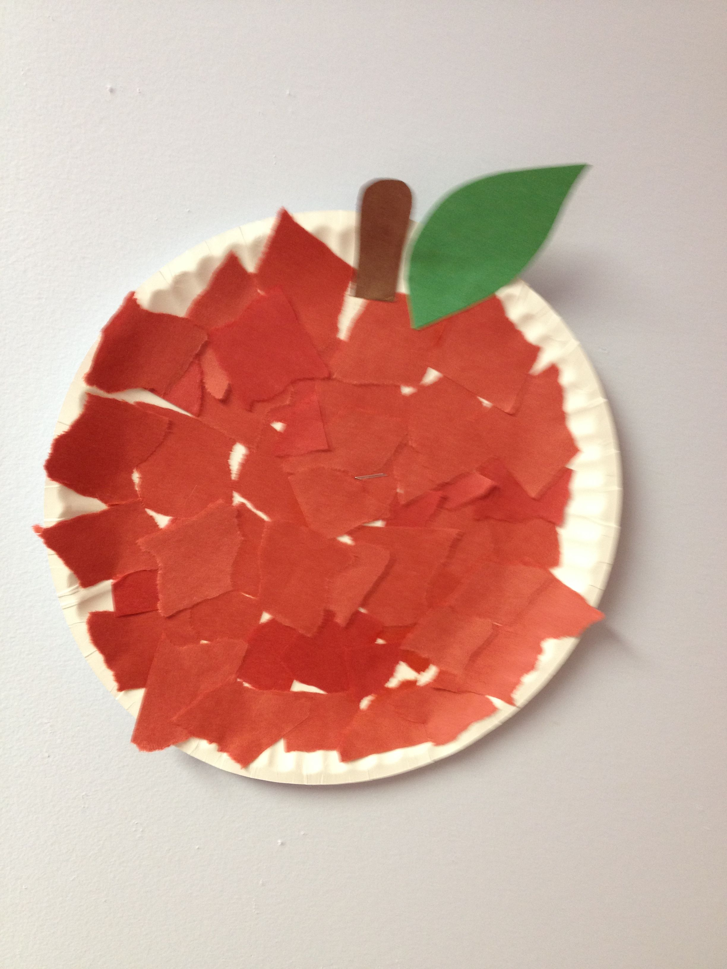 Paper Plate Apple S