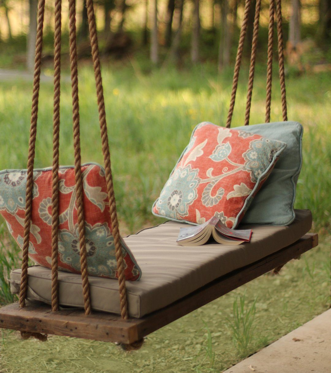Porch swing made from reclaimed wood home garden pinterest