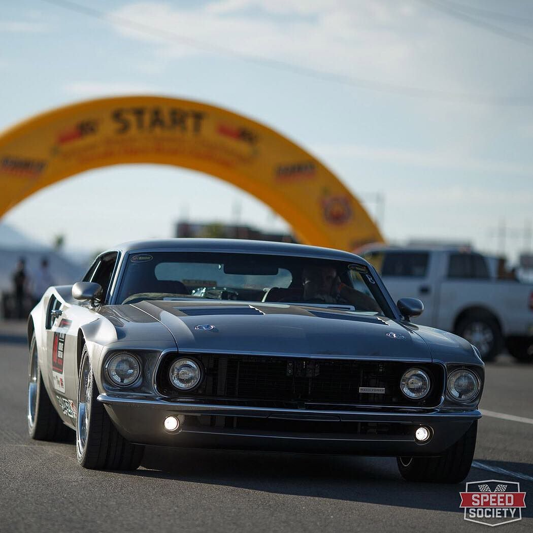 Speedsociety Ford Gt Meets A 69 Mustang With The Mach 40