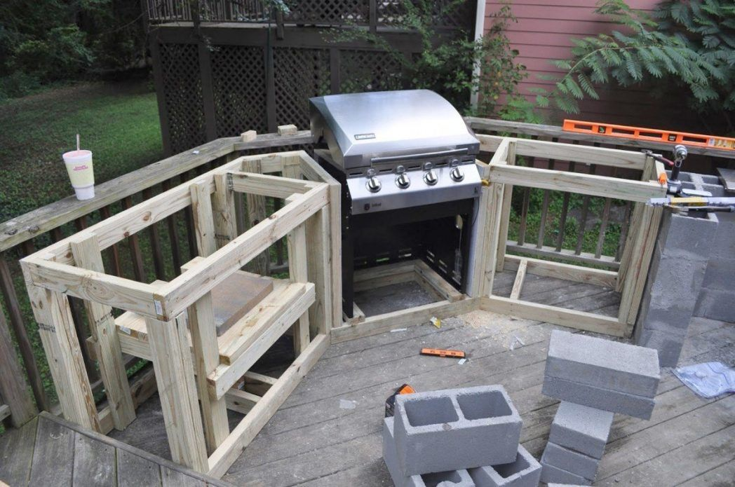 How To Build An Outdoor Kitchen Plans 20 Ideas Building Floor