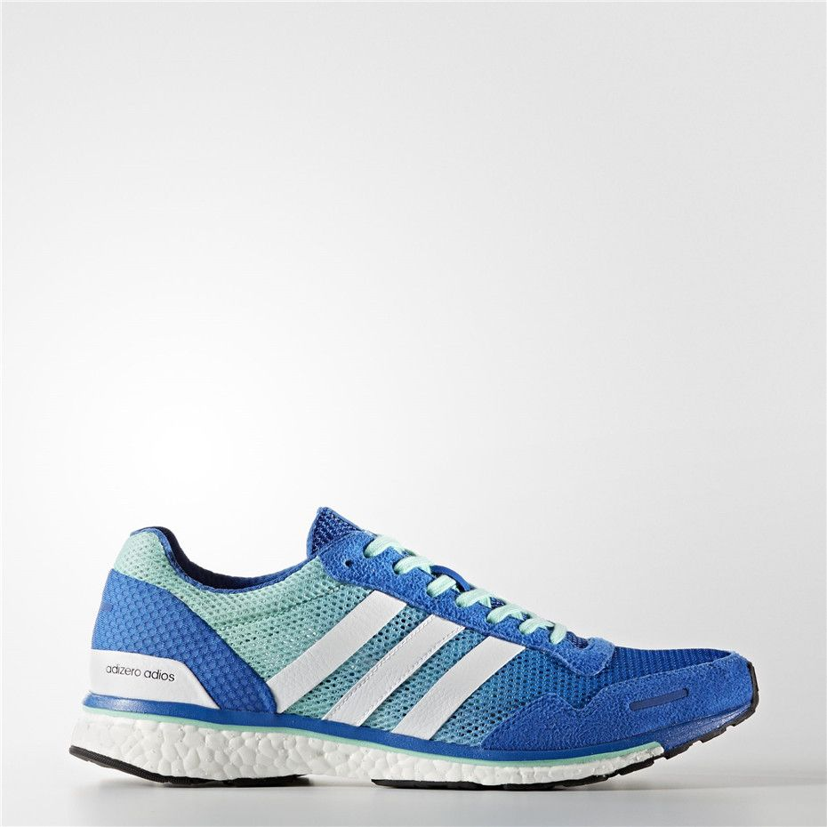 b765ef5476db ... switzerland adidas adizero adios 3 shoes blue running white 98611 32ed8