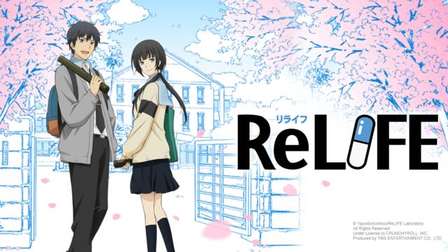 ReLIFE Anime Review Anime reviews, Anime episodes, Anime