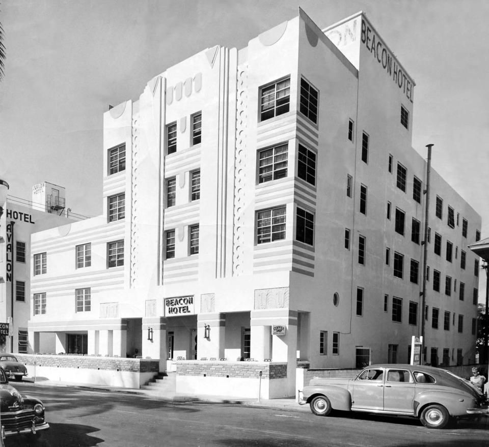 The Iconic Beacon Hotel South Beach 1947 With Images Beacon