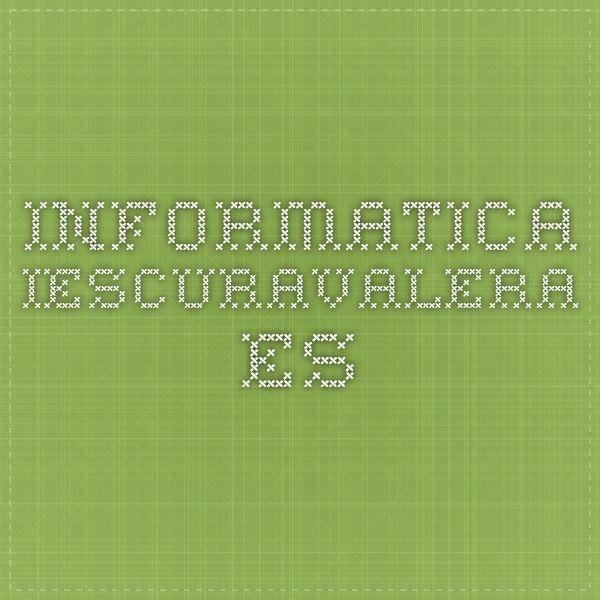 informatica.iescuravalera.es