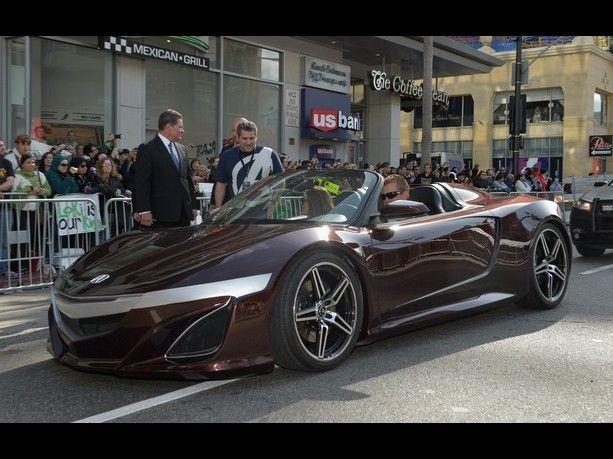 Acura Avengers NSX Sports Car