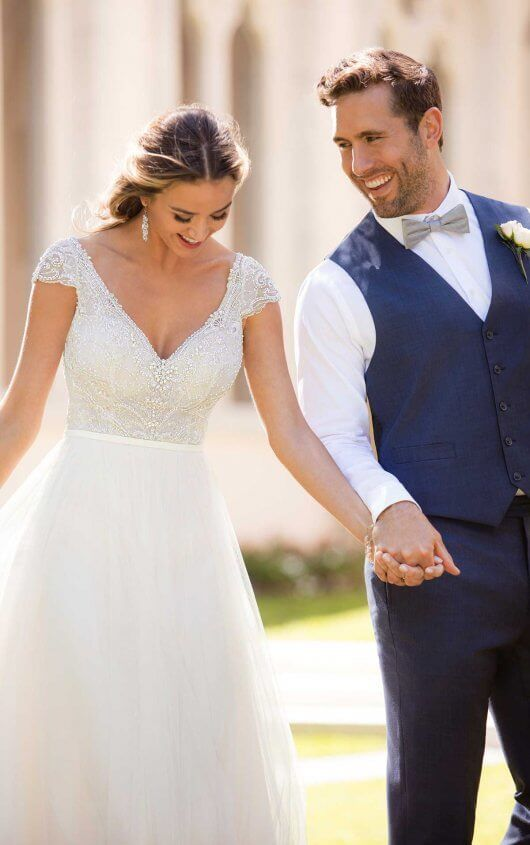 Photo of Simple and Sophisticated Wedding Dress