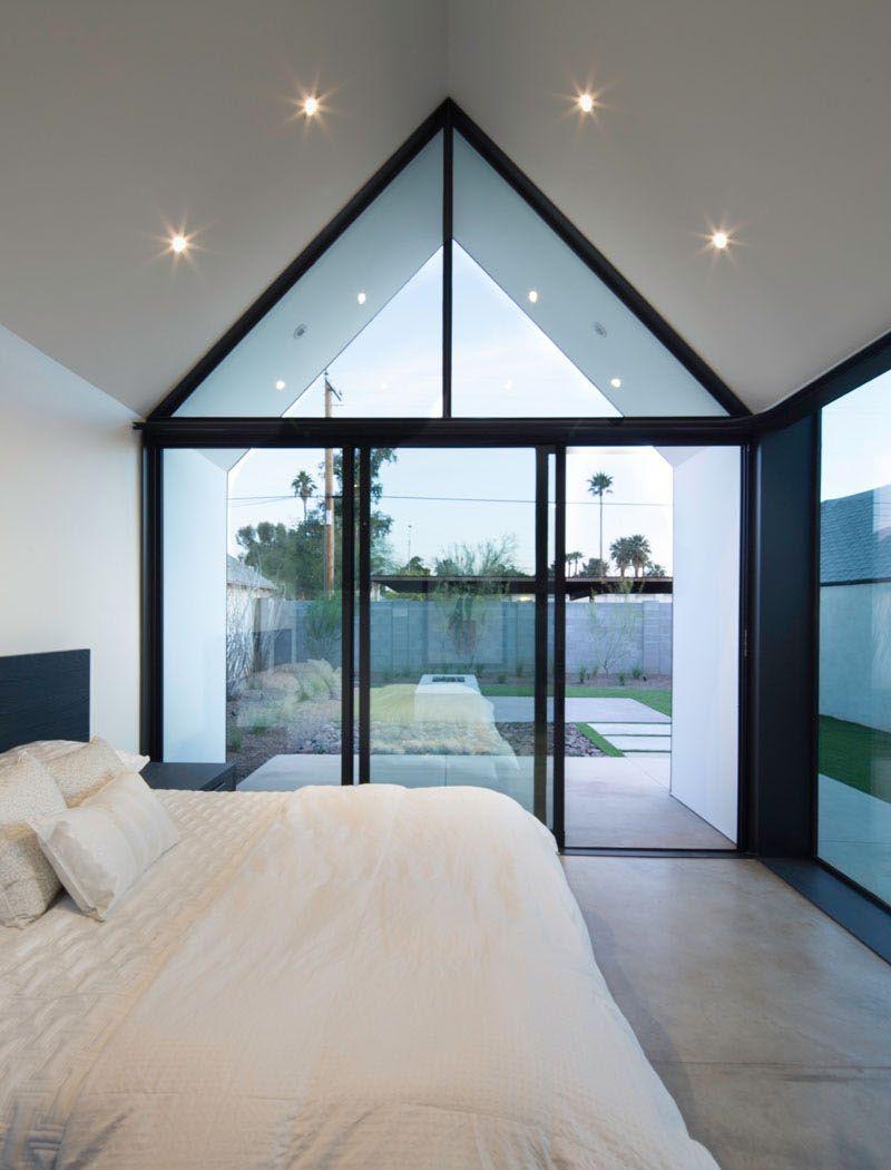 Marvelous Sanierung, Moderne Häuser, Haus, Zeitgenössische Häuser, Glashäuser,  Mikrohaus Design, Schlafzimmerfenster, Modernes Bauernhaus, Kleine Häuser