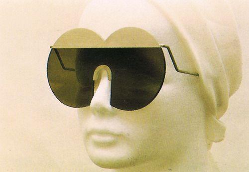 1970's futurist eyewear by Hans Hollein for AOC, I973