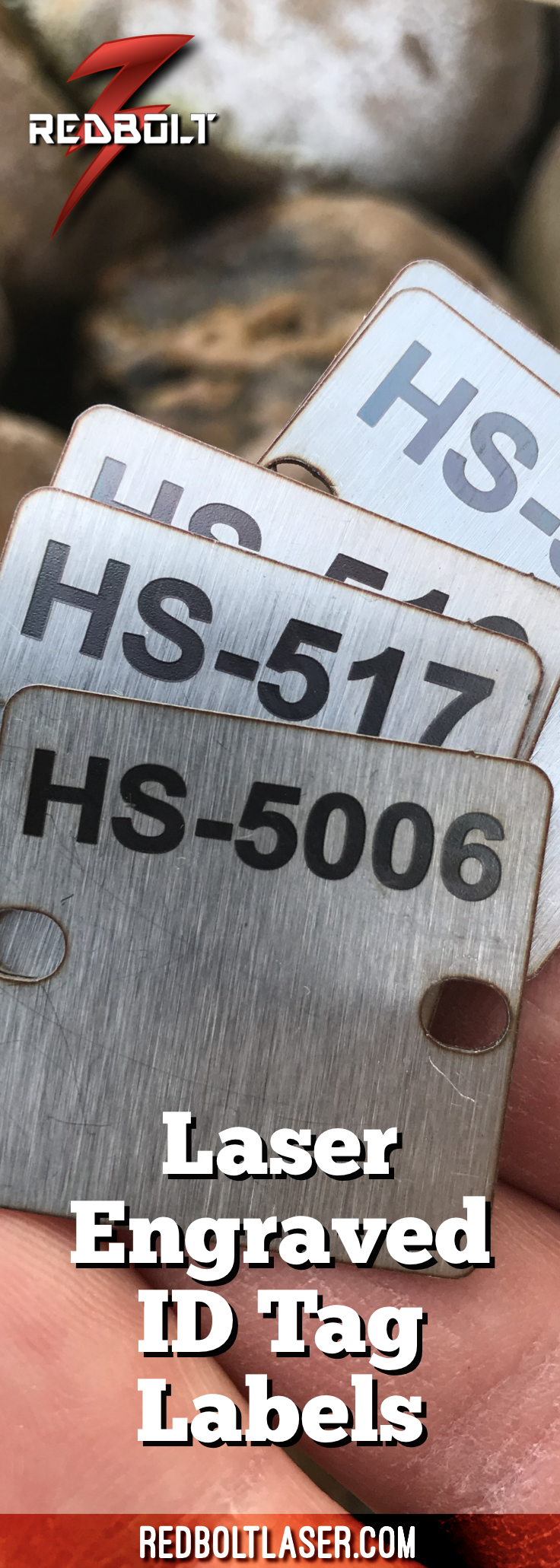 It is a picture of Current Laser Etched Service Label
