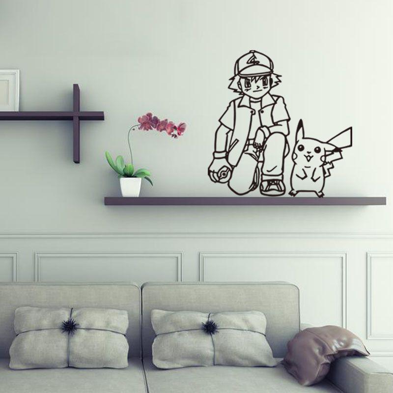 Best Pokemon Go Boy Pikachu Diy Vinyl Wall Stickers For Kids 400 x 300