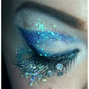 Pinterest / Search results for Glitter eye make up