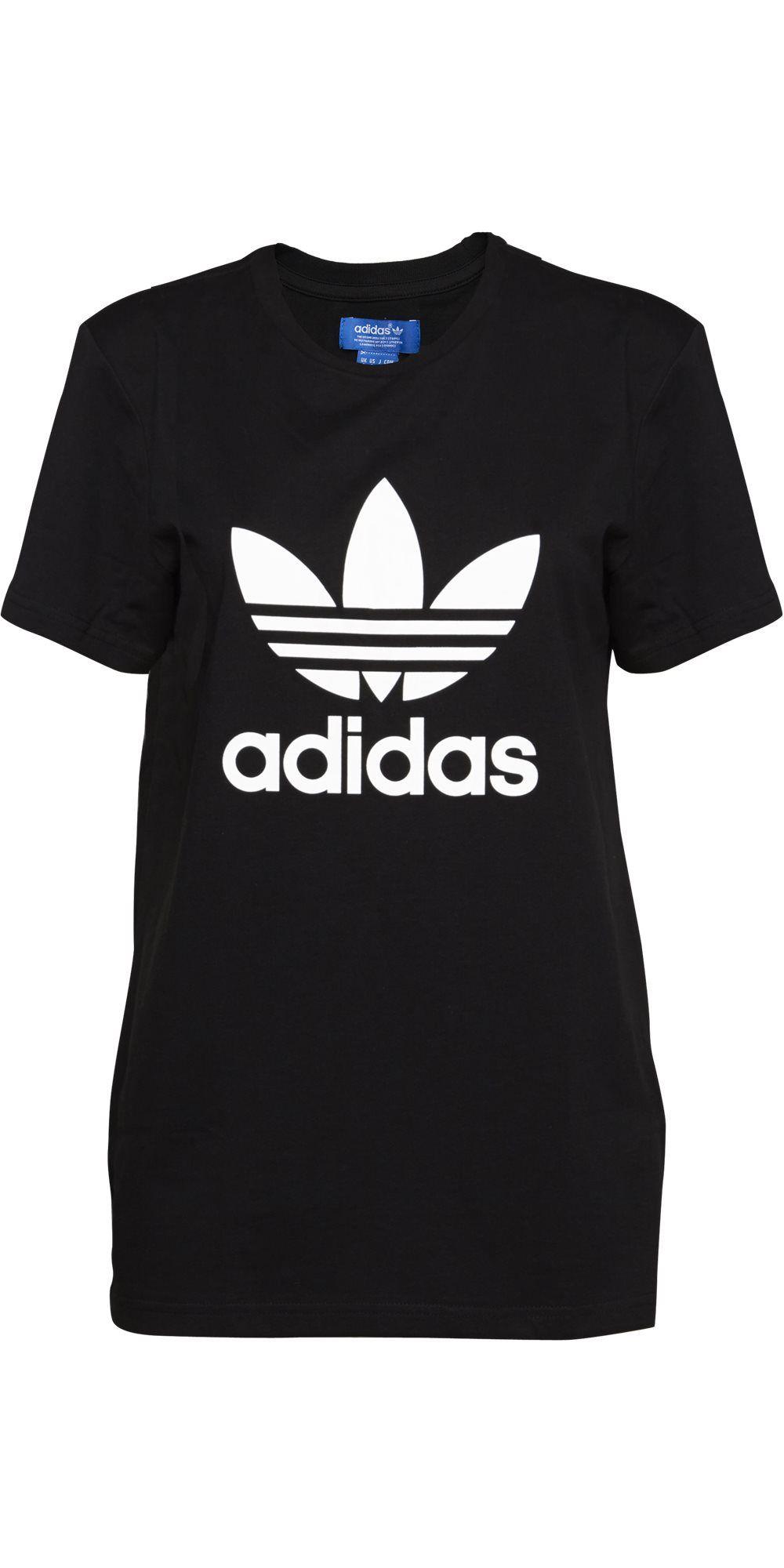 TREFOIL TEE T-shirts Sort fra Adidas DKK 250,- | Køb Online