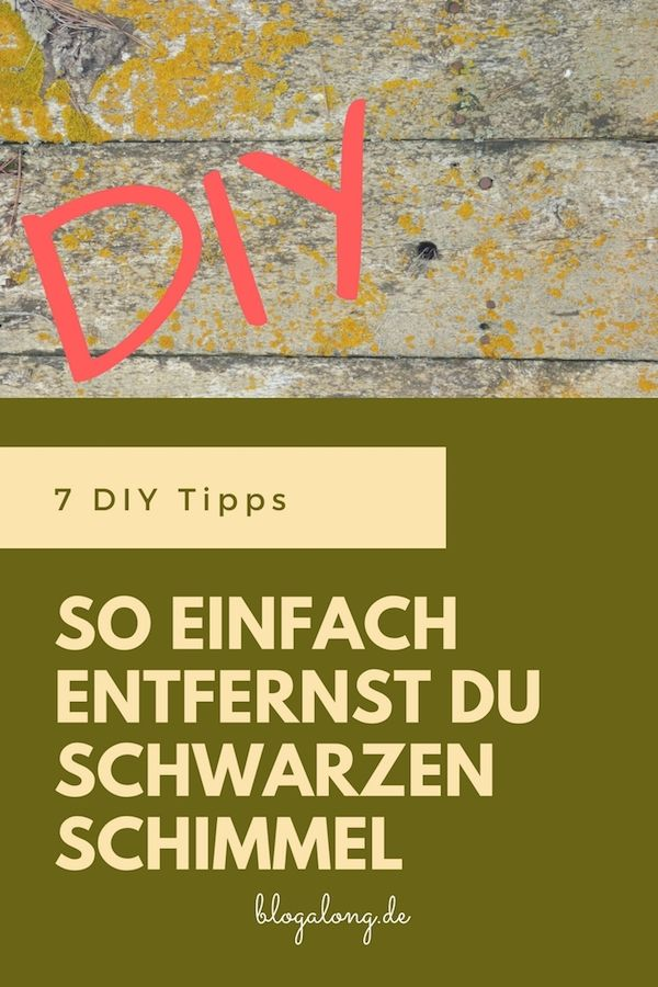 diy so einfach entfernst du schwarzen schimmel beste blogposts pinterest. Black Bedroom Furniture Sets. Home Design Ideas