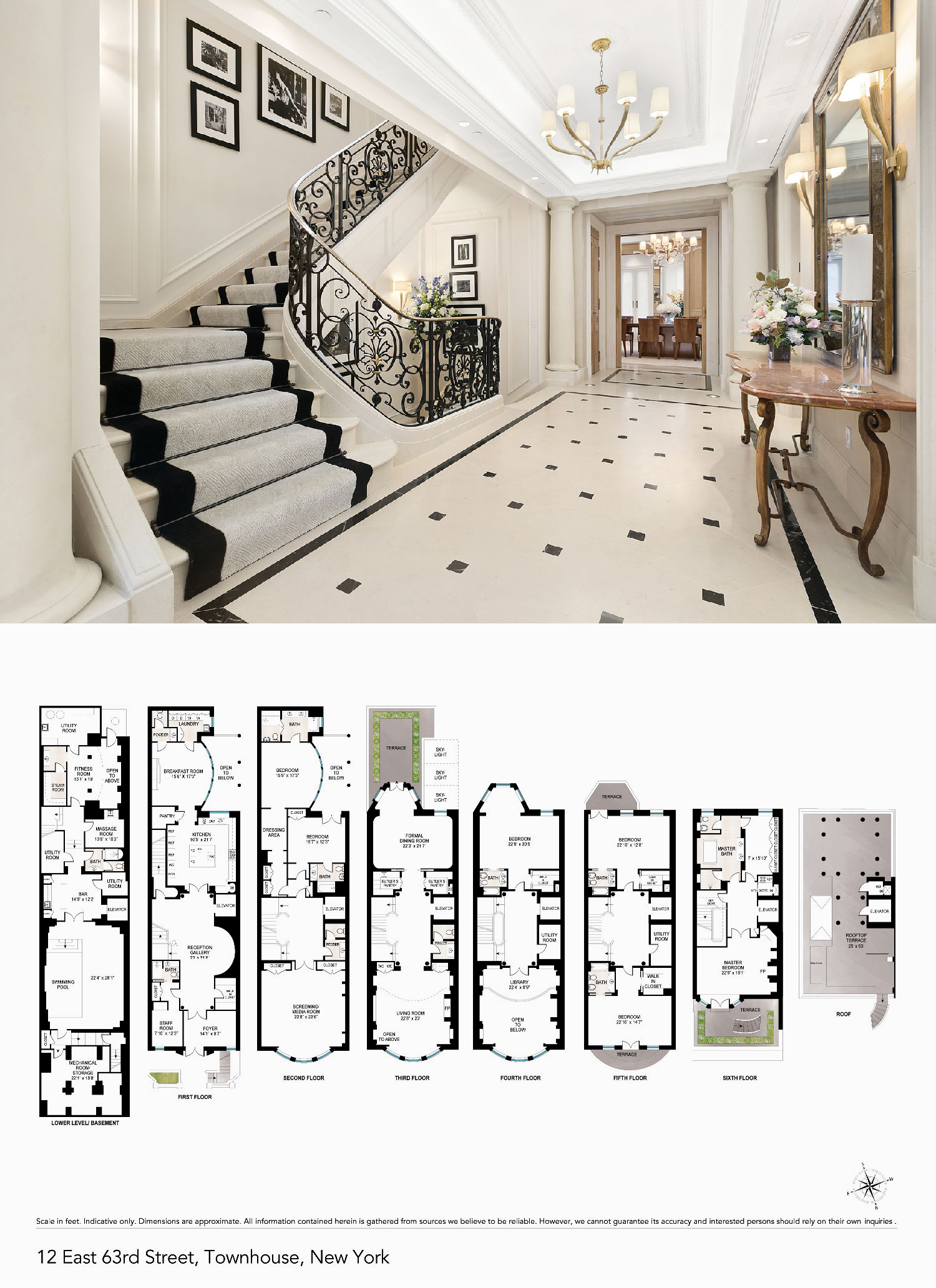 For 67m An Opulent Upper East Side Mansion With Thierry Despont Renovation Mansion Floor Plan Architectural Floor Plans Brownstone Homes