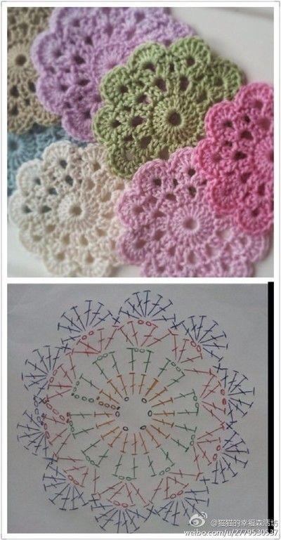 堆糖-美好生活研究所 | crochet | Pinterest | Häkelmuster, Häckeln ...